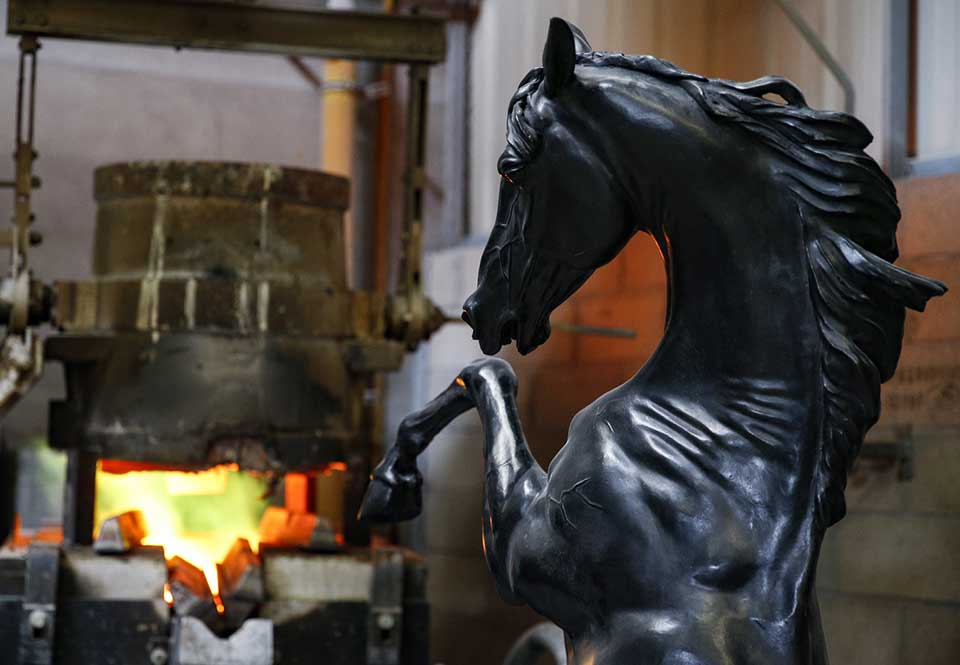 Oeuvre-sculpteur-francais-Arnaud-Kasper-Fonderie-Chapon-Bobigny