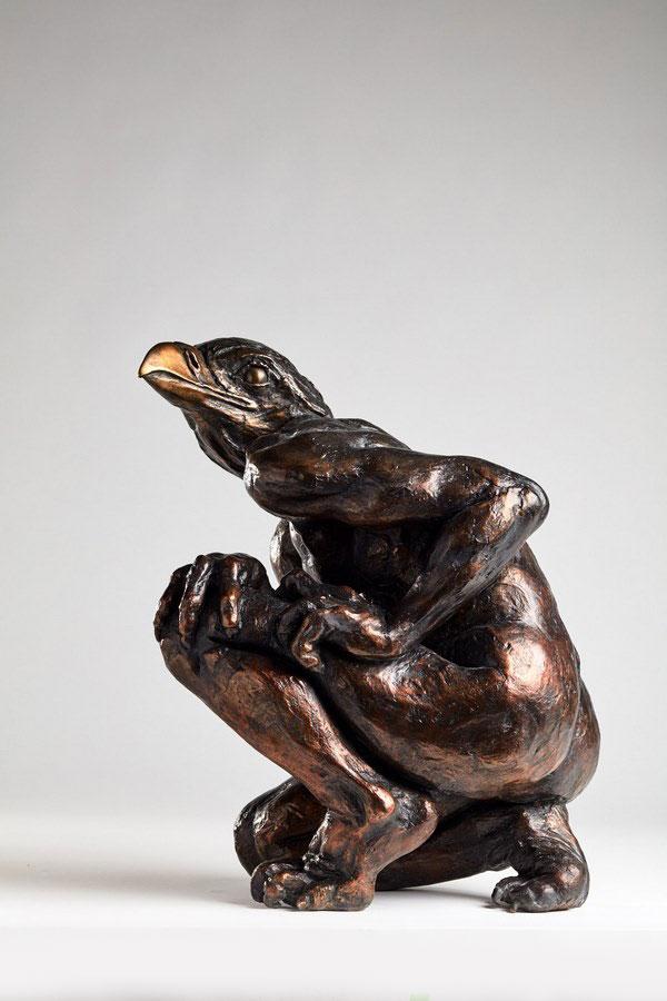 _Homme-Oiseau_-bronze-numéroté-de-1-à-8-exemplaires