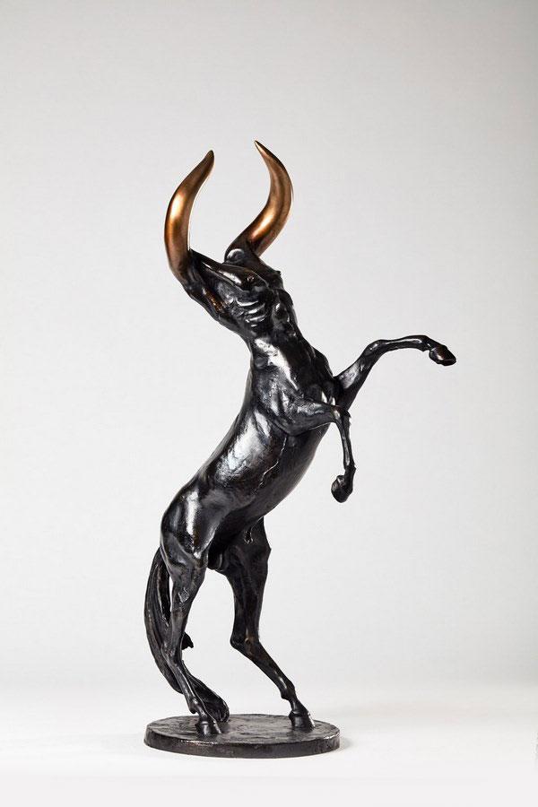 Kasper-sculpteur-Cenminotaure-bronze