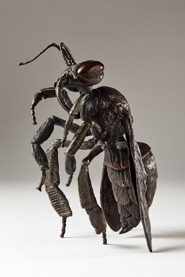 Kasper sculpteur _Abeille_ bronze numéroté -1_1