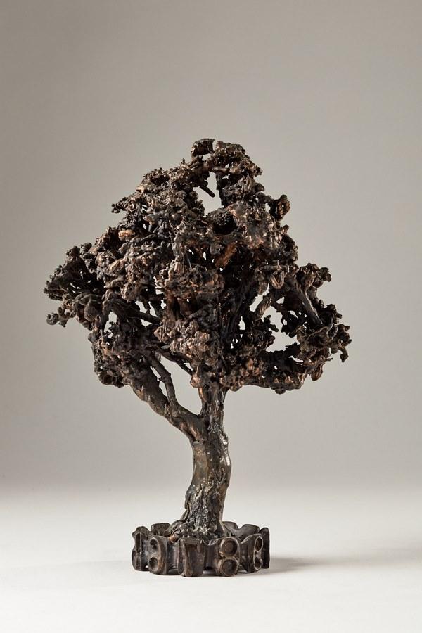 Kasper sculpteur _Arbre pétrifié_ bronze