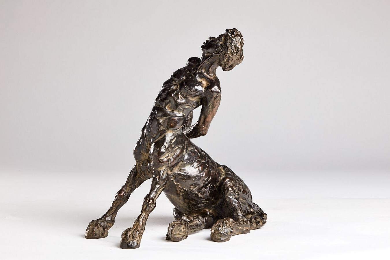 Kasper sculpteur _Centaure assis