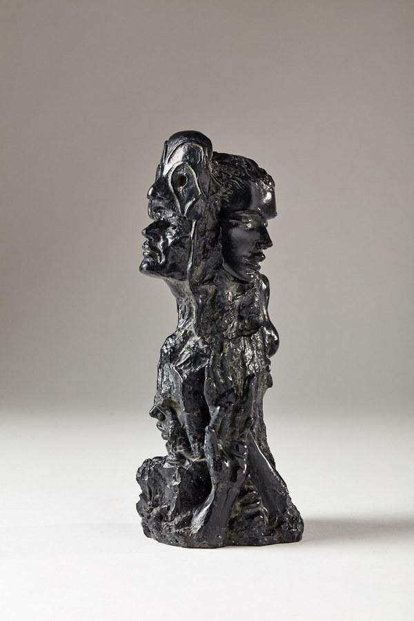 Kasper sculpteur _Comédia_ bronze