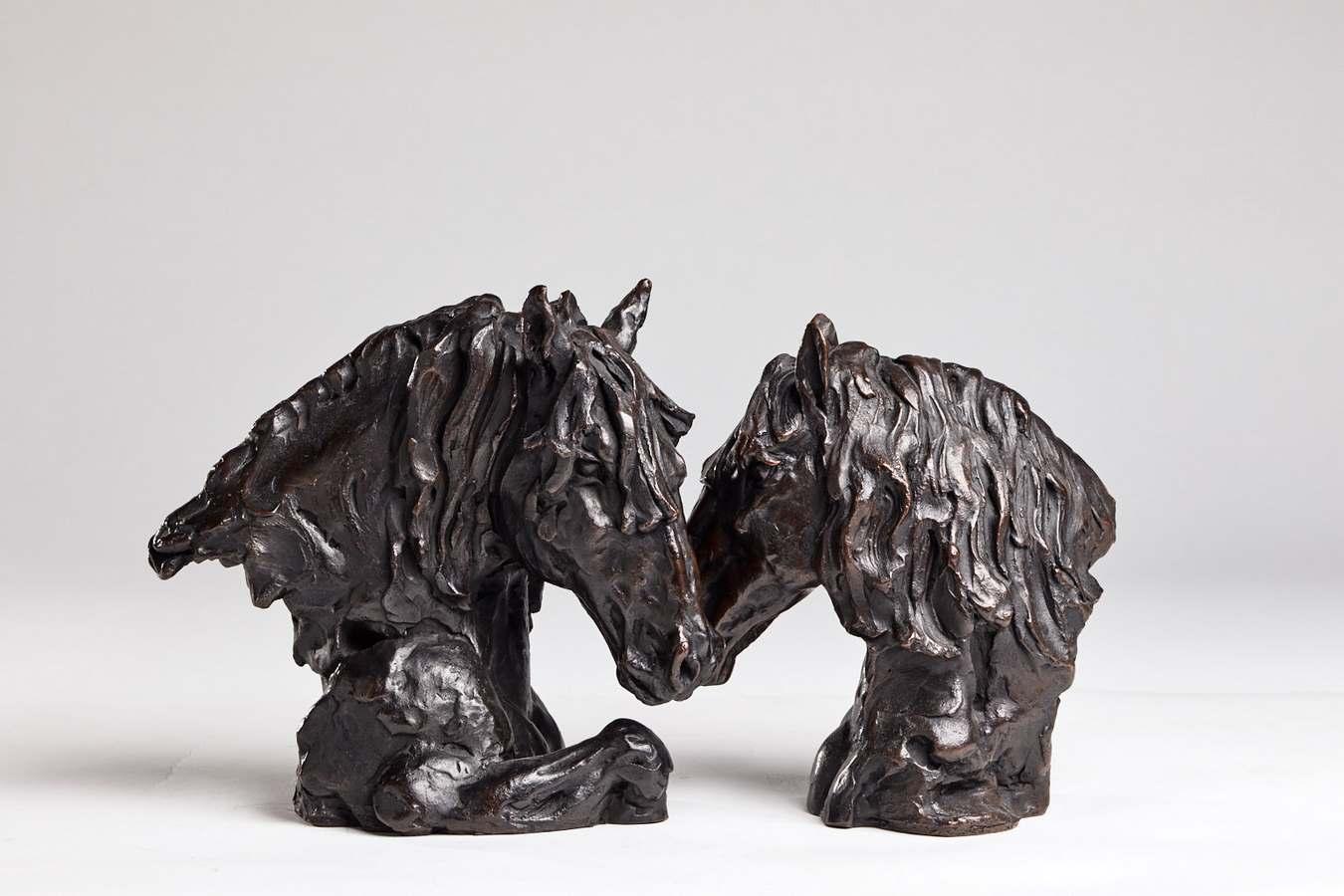 Kasper sculpteur _Dialogue_ bronze numéroté 1_8 (Copier)