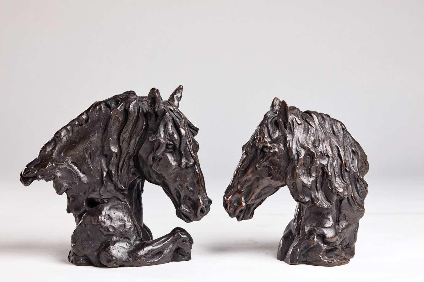 Kasper sculpteur _Duo_ bronze