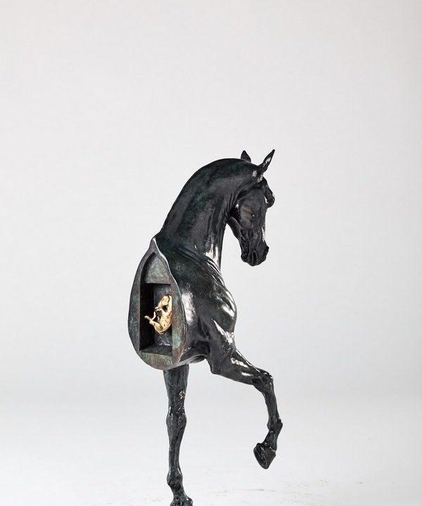 Kasper sculpteur _Epona._ bronze