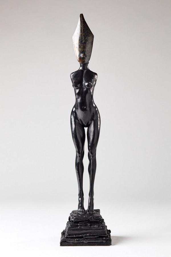 Kasper sculpteur _Femme plume