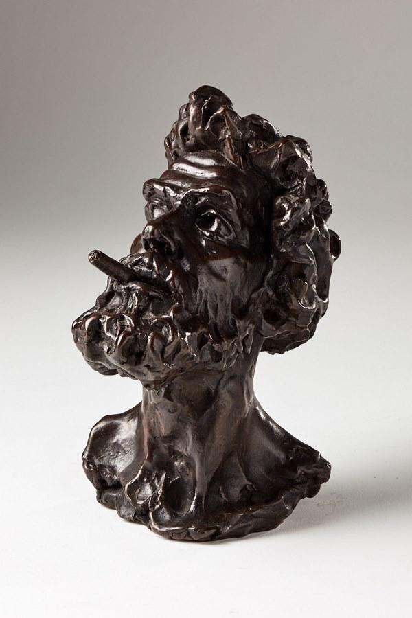 Kasper sculpteur _Fumeur_ bronze