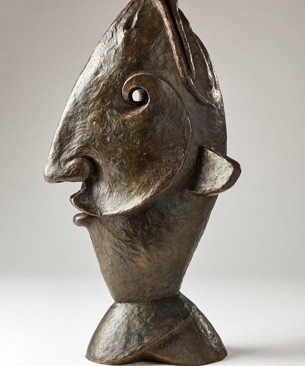 Kasper sculpteur _Homme Poisson
