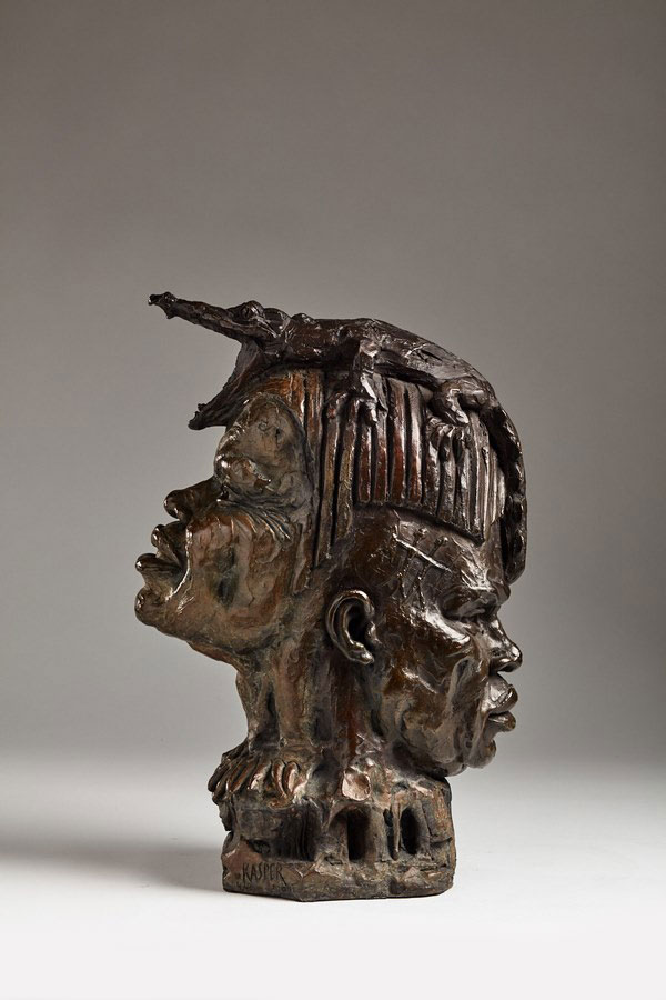 Kasper-sculpteur-_Janus_-bronze