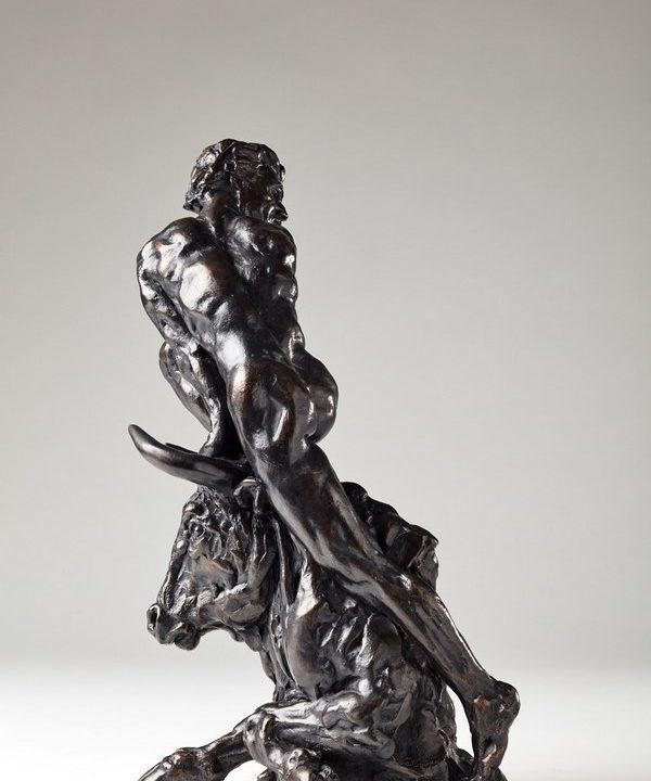 Kasper sculpteur _L'Arène_ bronze