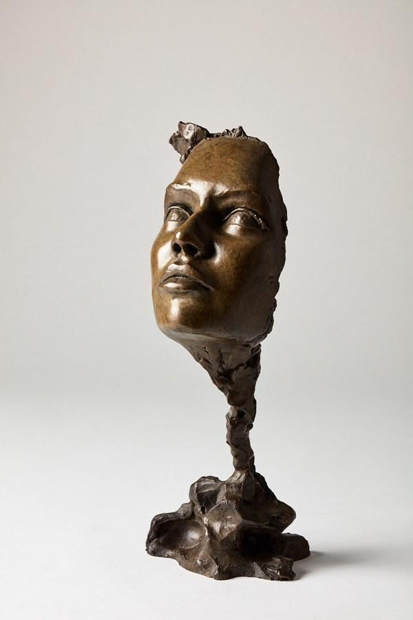 Kasper sculpteur _Le Parfum _ bronze