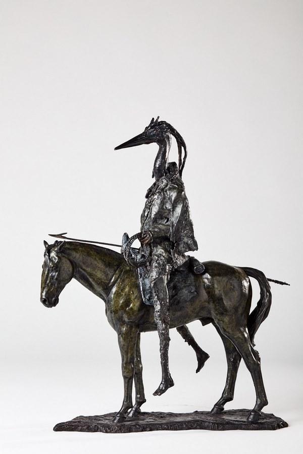 Kasper sculpteur _Le chasseur_ bronze numéroté 1_1