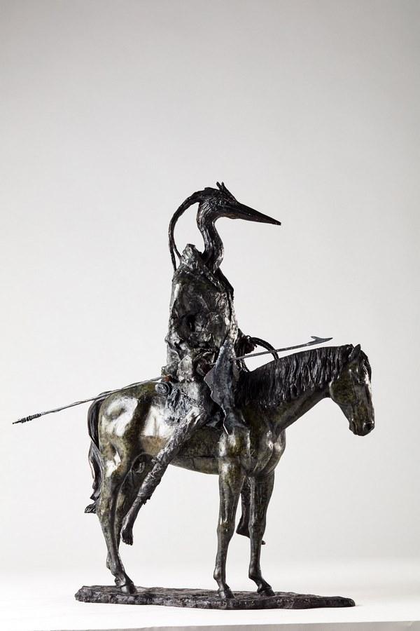 Kasper sculpteur _Le chasseur_ bronze