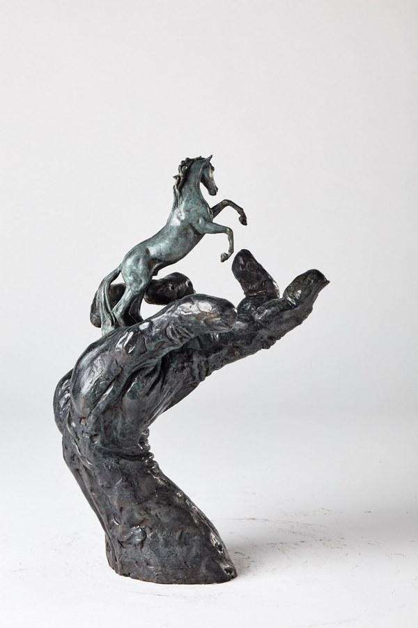 Kasper sculpteur _La main du créateur_ bronze