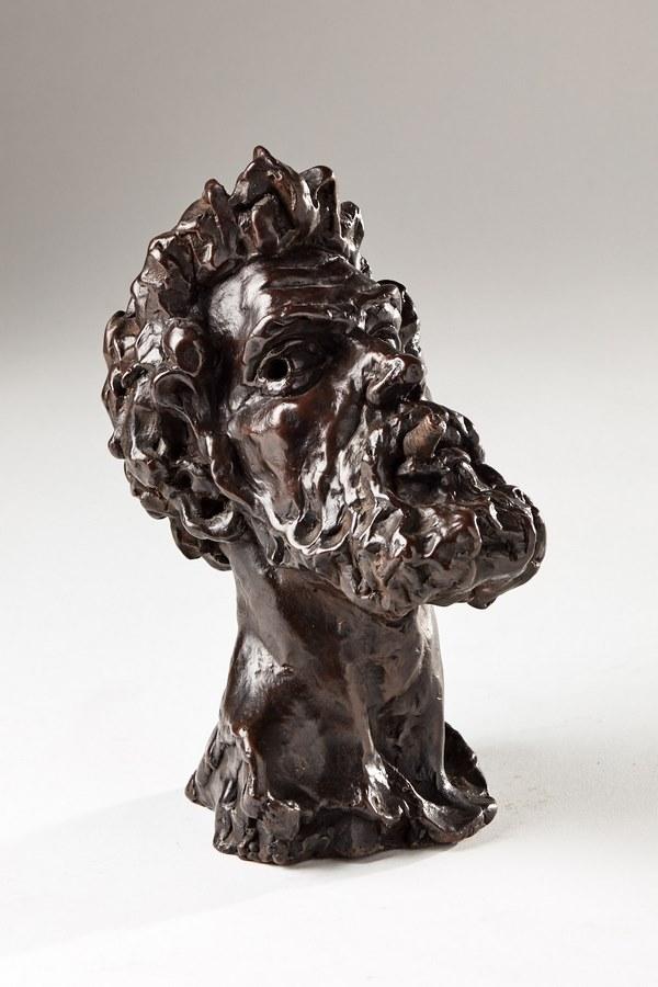 Kasper sculpteur _Le fumeur_ bronze