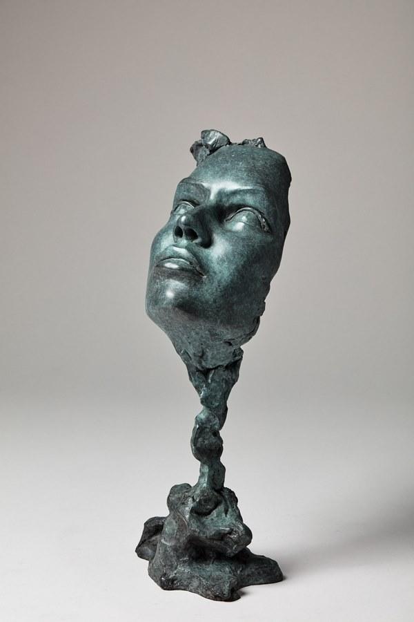 Kasper sculpteur _Le parfum_ bronze