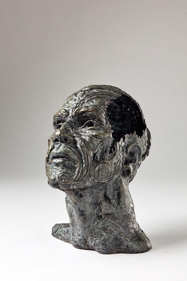 Kasper sculpteur _Maoris_ bronze