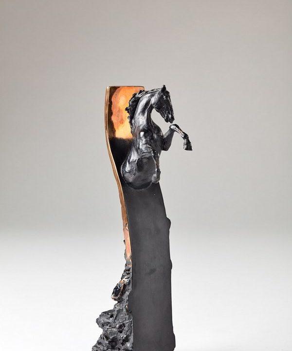 Kasper sculpteur _Thophée Epona_ bronze