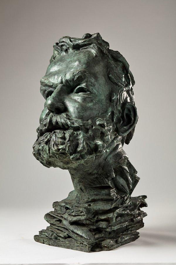 Kasper sculpteur _Victor Hugo_ bronze