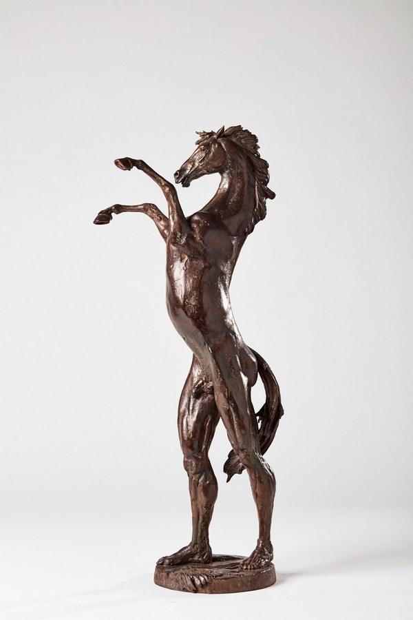 Kasper sculpteur _parade_ bronze